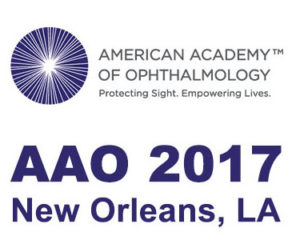 American Academy of Ophthalmology 2017 congress