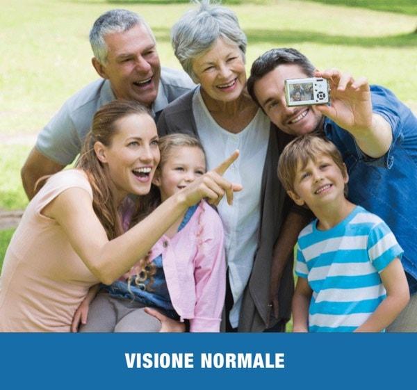 VISIONE NORMALE 1 - Trattamento Laser 2RT delle maculopatie | Studio Oculistico Davì dr Giuseppe