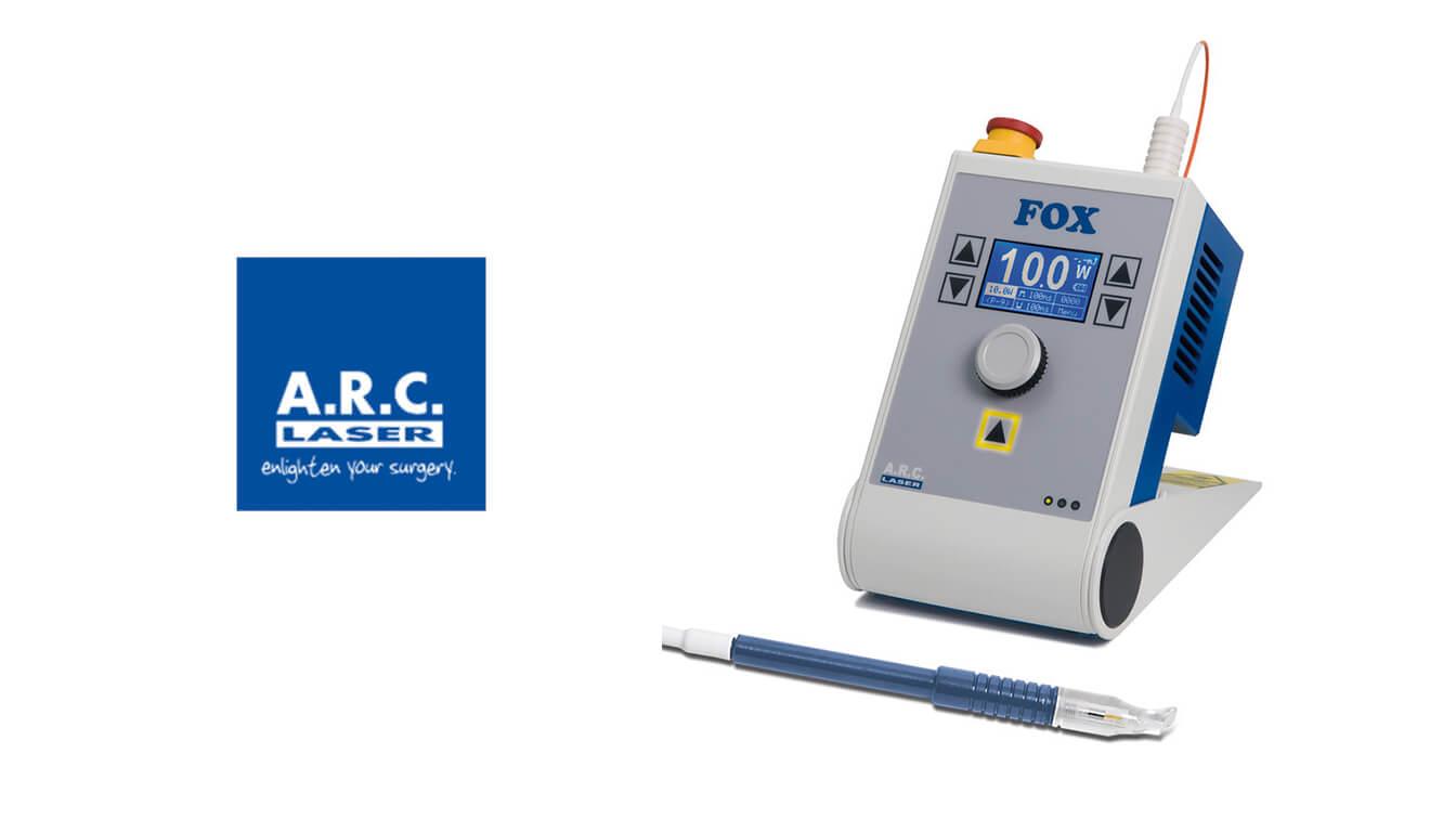 ARC fox dcr laser 1 - Come risolvere la lacrimazione con un intervento mininvasivo Dacriocistorinostomia (DCR) laser a diodi