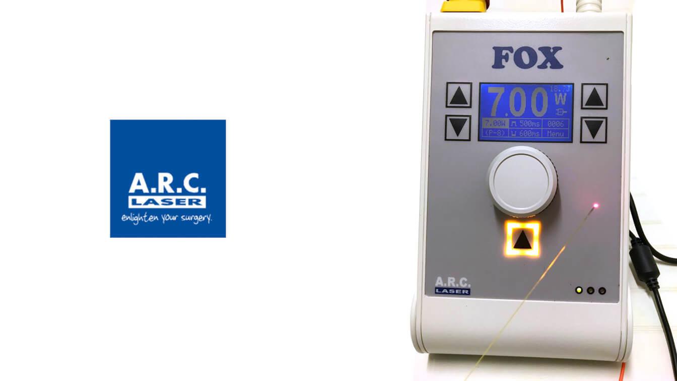 ARC fox dcr laser new - Come risolvere la lacrimazione con un intervento mininvasivo Dacriocistorinostomia (DCR) laser a diodi